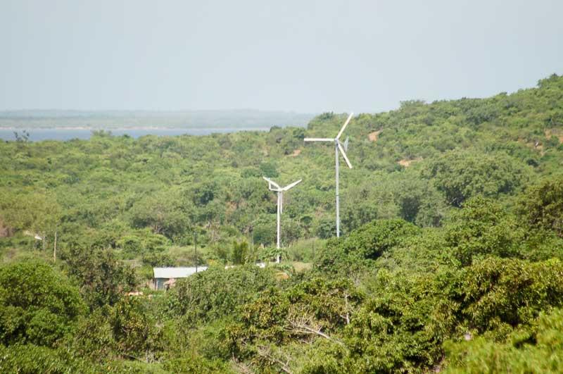 Les éoliennes d'Ivovono
