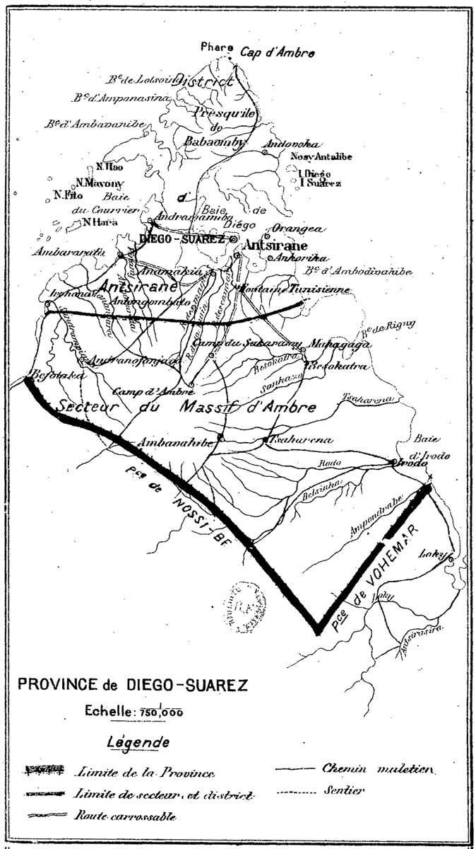 La Province de Diego Suarez en 1905