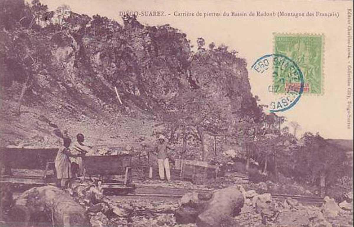 « Carrière de pierres du bassin de radoub (Montagne des Français)»