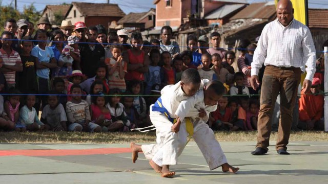 Le championnat National de Judo Club In School a eu lieu à Antsirabe